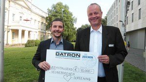 [Translate to fr_fr:] DATRON charity